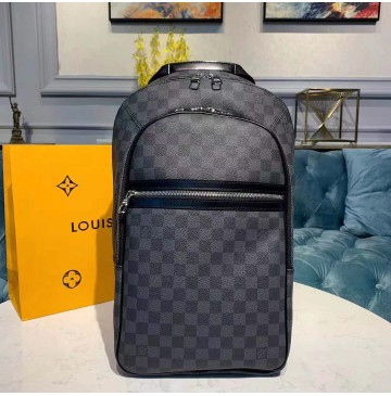 Louis Vuitton Damier Graphite Michael Backpack N58024