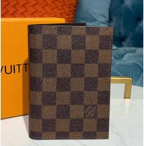 Louis Vuitton Damier Ebene Passport Cover N64412