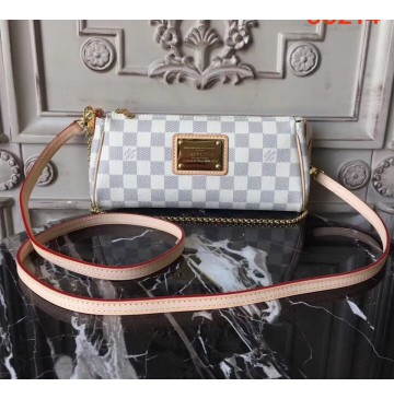 Louis Vuitton Damier Azur Canvas Eva Clutch N55214