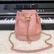 Chanel Drawstring Bag CS0373-pink