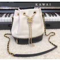 Chanel Drawstring Bag CS0373-white