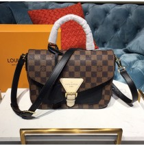 Louis Vuitton Damier Ebene Crossbody Noir N40146