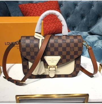 Louis Vuitton Damier Ebene Crossbody Creme N40148