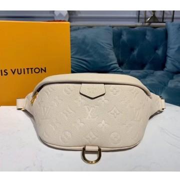 Louis Vuitton Monogram Empreinte Bumbag Creme M44836