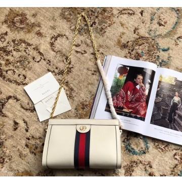 Gucci Ophidia GG Small Shoulder Bag GU503877L-white