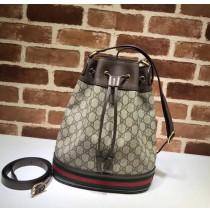 Gucci Ophidia GG Bucket Bag GU540457C-brown