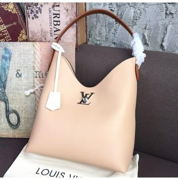 Louis Vuitton Lockme Hobo Tan M52776