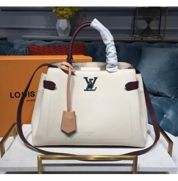 Louis Vuitton Lockme Day Rose Soie Quartz Calla M53647