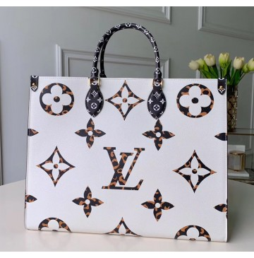 Louis Vuitton Onthego Ivoire M44675