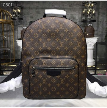 Louis Vuitton Monogram Macassar Canvas Josh Backpack M41530