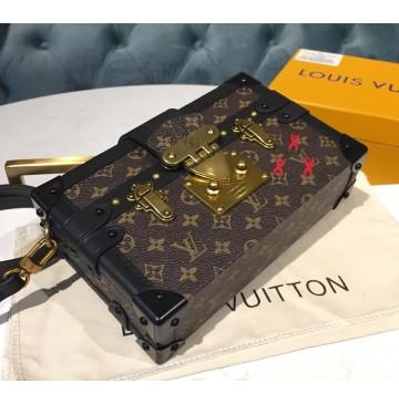 Louis Vuitton Monogram Canvas Petite Malle M44199