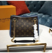 Louis Vuitton Monogram Canvas Surene BB with Bleu Jean Leather M44299