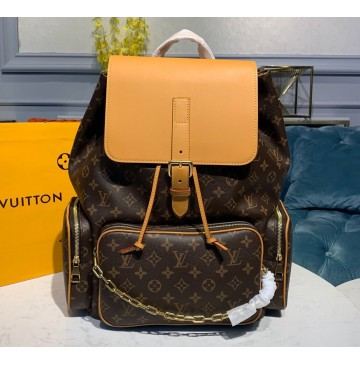 Louis Vuitton Monogram Backpack Trio M44658