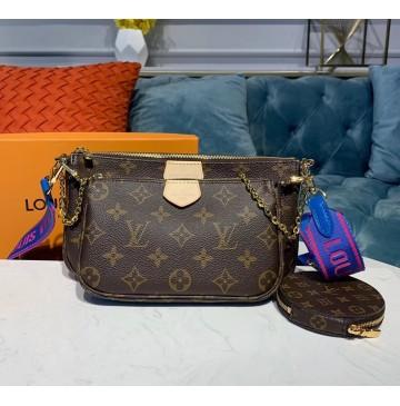 Louis Vuitton Multi-pochette Accessoires Blue