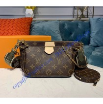 Louis Vuitton Multi-pochette Accessoires Light Green