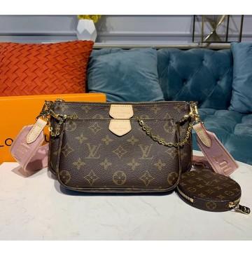 Louis Vuitton Multi-pochette Accessoires Pink
