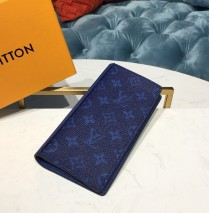 Louis Vuitton Brazza Wallet Cobalt M30297