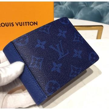 Louis Vuitton Multiple Wallet Cobalt M30299