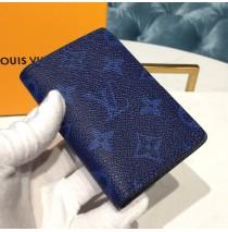 Louis Vuitton Pocket Organizer Cobalt M30301