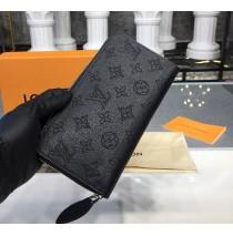 Louis Vuitton Mahina Leather Zippy Wallet M58429-black