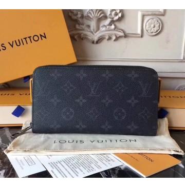 Louis Vuitton Monogram Eclipse Zippy Wallet M60017-BR