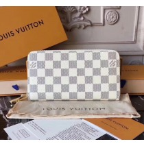 Louis Vuitton Damier Azur Zippy Wallet N60019-white