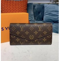 Louis Vuitton New Sarah Wallet in Monogram Canvas M60531