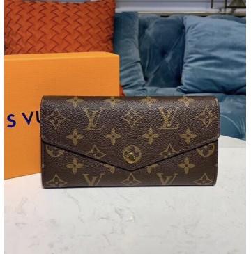 Louis Vuitton New Sarah Wallet in Monogram Canvas M60531