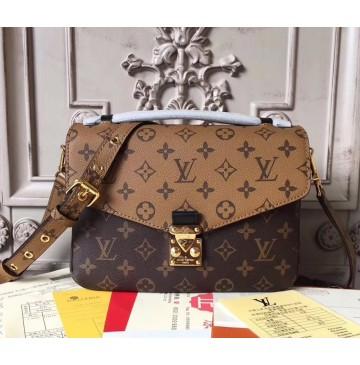 Louis Vuitton Monogram Reverse Metis Pochette M41465