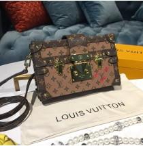 Louis Vuitton Monogram Reverse Canvas Petite Malle M44154