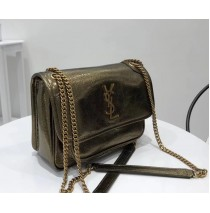 Saint Laurent Baby Niki Chain Bag YSL6187-bronze