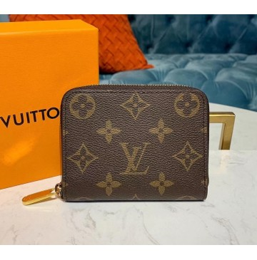 Louis Vuitton Monogram Canvas Zippy Coin Purse M60067