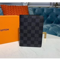 Louis Vuitton Damier Graphite Passport Case N60031