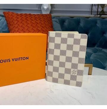 Louis Vuitton Damier Azur Passport Case N60032