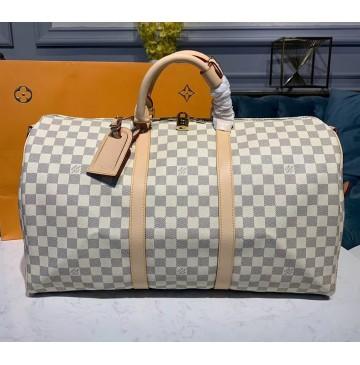 Louis Vuitton Damier Azur Keepall 50 N41427
