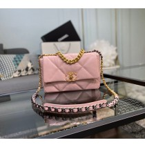 Chanel 19 Small Flap Bag C1160-pink