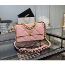 Chanel 19 Large Flap Bag C1161-pink