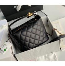 Chanel Hobo Bag C1746-black