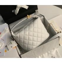 Chanel Hobo Bag C1746-white