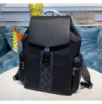 Louis Vuitton Monogram Eclipse Outdoor Backpack Black M30417