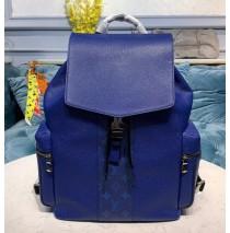 Louis Vuitton Monogram Eclipse Outdoor Backpack Cobalt M30419