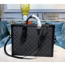 Louis Vuitton Monogram Eclipse Soft Trunk Briefcase M44952