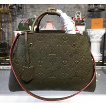Louis Vuitton Monogram Empreinte Montaigne MM M41048-green