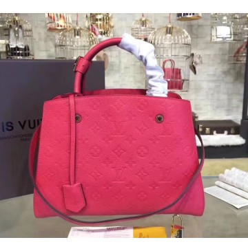 Louis Vuitton Monogram Empreinte Montaigne MM M41048-red