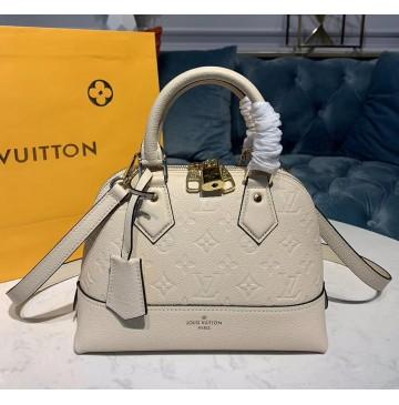 Louis Vuitton Monogram Empreinte Leather Neo Alma BB M44829-beige