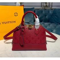 Louis Vuitton Monogram Empreinte Leather Neo Alma BB M44829-beige-red