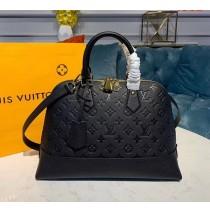 Louis Vuitton Monogram Empreinte Leather Neo Alma PM M44832-black