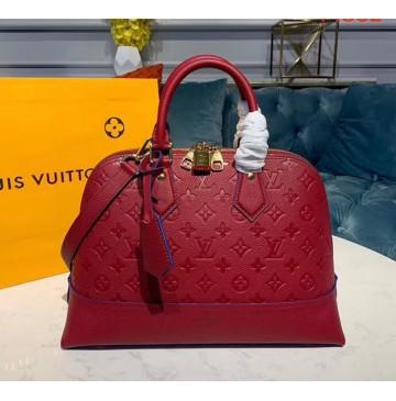 Louis Vuitton Monogram Empreinte Leather Neo Alma PM M44832-red