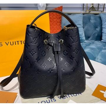 Louis Vuitton Monogram Empreinte Neonoe MM M45256-black