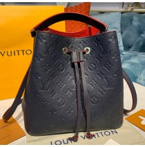 Louis Vuitton Monogram Empreinte Neonoe MM M45306-navy-blue